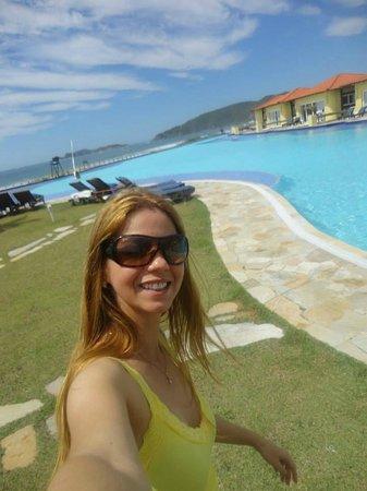Blue Tree Park Buzios Beach Resort: Piscina, e frente dos quartos