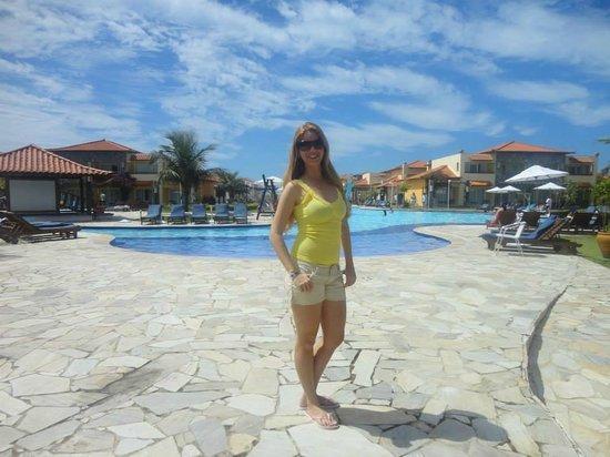 Blue Tree Park Buzios Beach Resort: Vista em frente ao restaurante