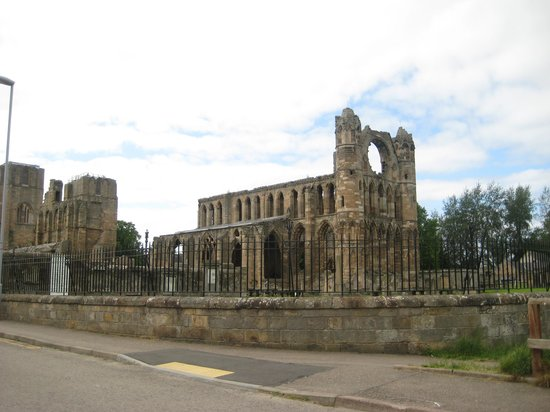 Elgin Cathedral: cathédrale