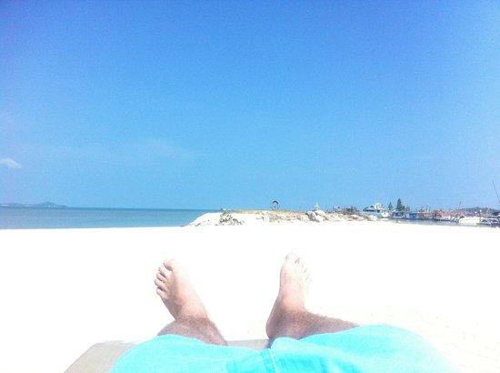 Deva Samui Resort & Spa : Private beach