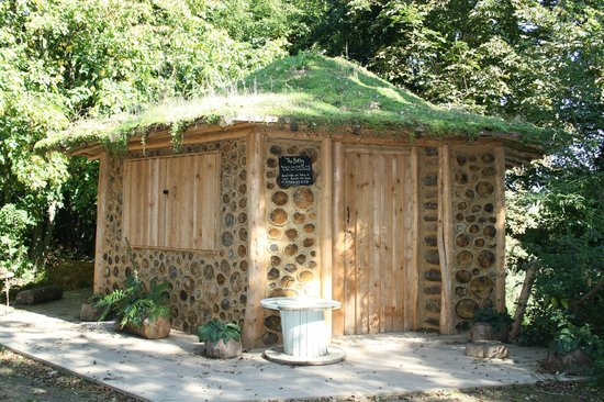 The Bothy in the woods at Aldingbourne Country Centre