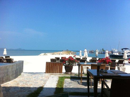 Deva Samui Resort & Spa: View from breakfast
