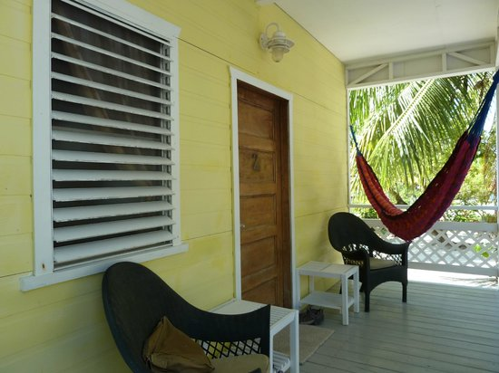 Maxhapan Cabanas: Lower Cabana - Private Porch