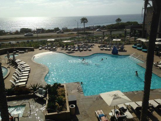 Cape Rey Carlsbad, a Hilton Resort: Ocean view from room - Highly Recommended!!