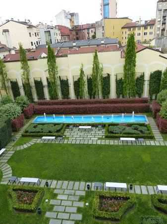 Grand Visconti Palace : View from Room