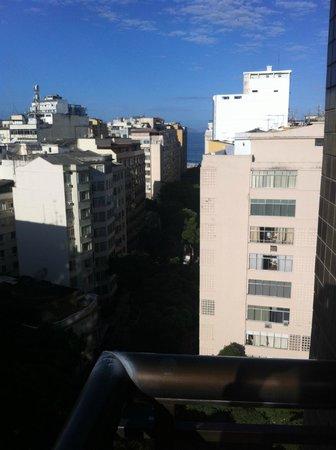 Augusto's Copacabana Hotel : Vista do Ap