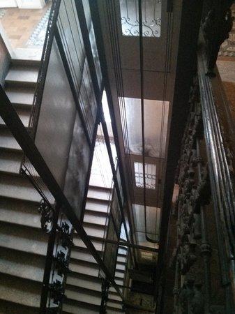 Pension Residenz: elevator