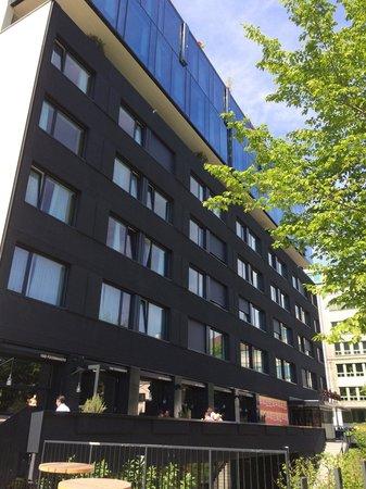 25hours Hotel beim MuseumsQuartier: Von außen