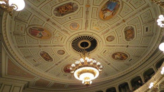 Semper Opera House (Semperoper): detalle del interior