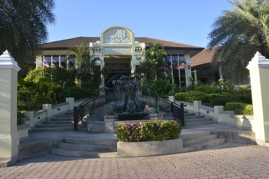 Merlin Beach Resort: Hoteleingang