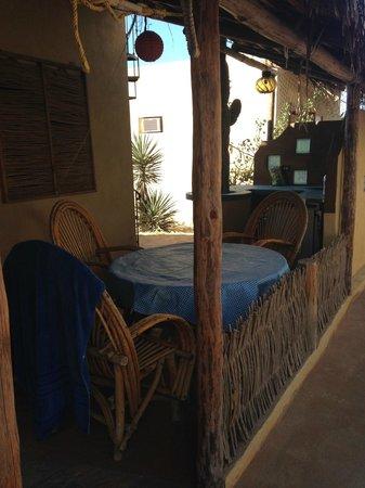 Villas de Cerritos Beach: Front patio