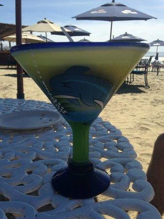 Villas de Cerritos Beach: more cocktails on the beach