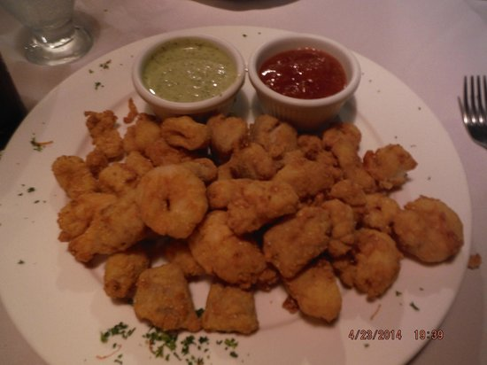 Papagayo Seafood : Fried seafood