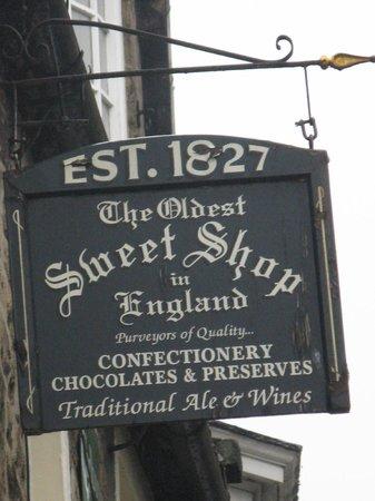 Oldest Sweet Shop in England, est 1827