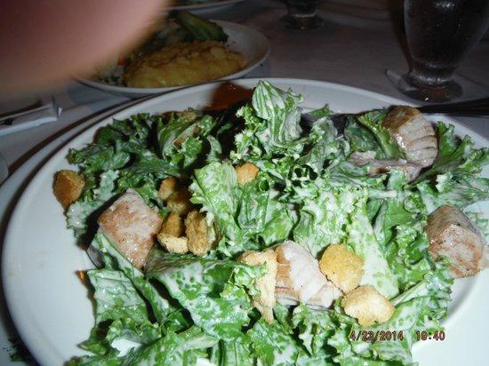 Papagayo Seafood: Tuna sald