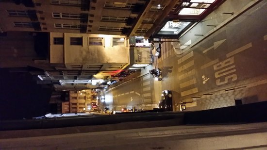 Hotel Esprit Saint Germain: Night View From Our Room