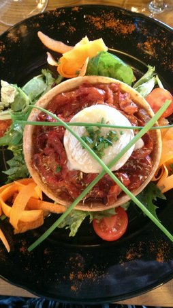 Restaurant de la Reine Jeanne : Tarte tomate