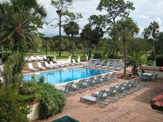 Mission Inn Resort & Club: Hotel Swimming Pool and Chiquita Cabana Pool Bar & Grill