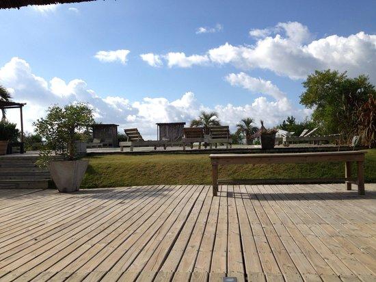 Casa Suaya: The pool deck.