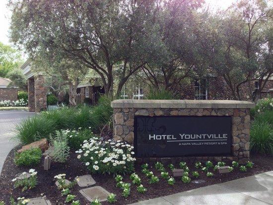 Hotel Yountville: Entrance