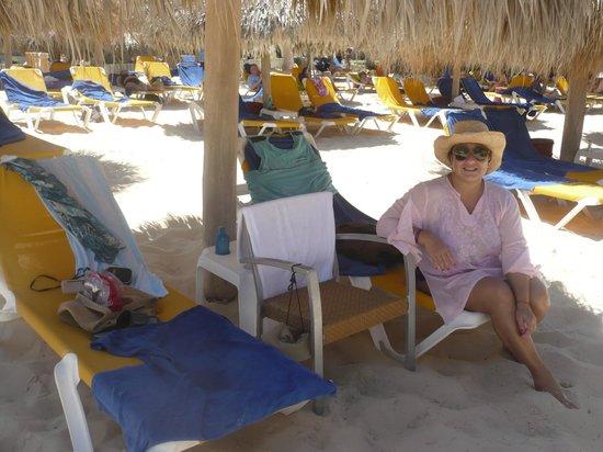 Iberostar Punta Cana: nuestro parasol