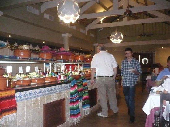Iberostar Punta Cana: restaurant mexicano Maria Bonita