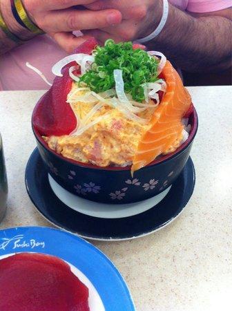 Sushi Bay : Mix Don close up.  So good!!