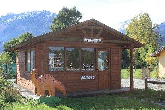 El Hoyo, Argentina: Cabaña de ingreso