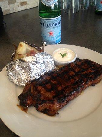 $10 Steak Bondi Beach Flame grilled steak. - Picture of Bondi Grill House, Huntington Beach ...