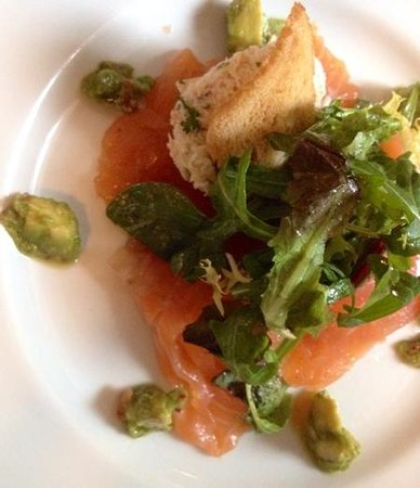 The Sussex: House Cured Organic Salmon