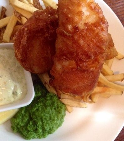 The Sussex: Beer Battered Fish & Chips