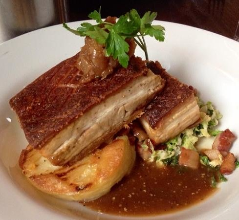 The Sussex: Slow Roasted Pork Belly