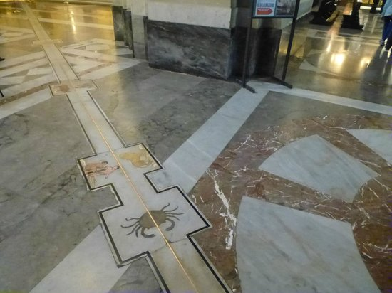 Cattedrale di Palermo: The meridian line