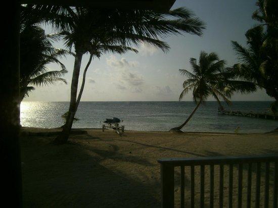 Sapphire Beach Resort: quick deck shot