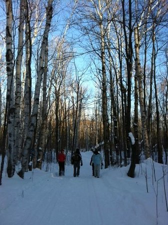 Lake of the Clouds Resort : Hike to Lake Superior