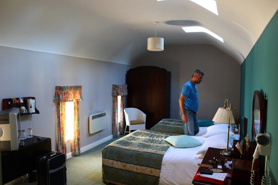 Markree Castle Hotel: Chambre double (1 grand lit 1 lit simple)