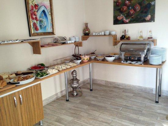 Hayriye Hanim Konagi Hotel: Desayuno