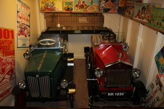 The Mill Toy & Pedal Car Museum: Prime examples