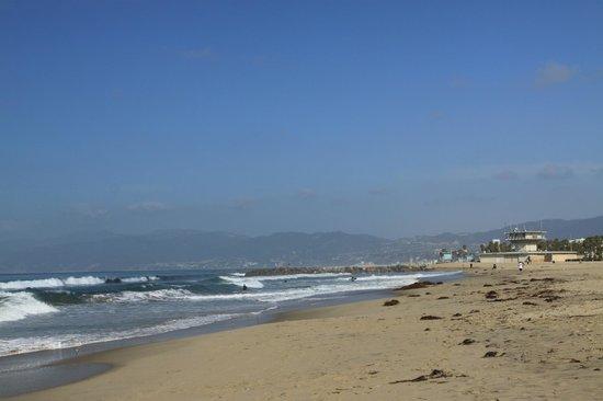 Santa Monica Beach : Пляж Санта-Моника, Лос-Анджелес