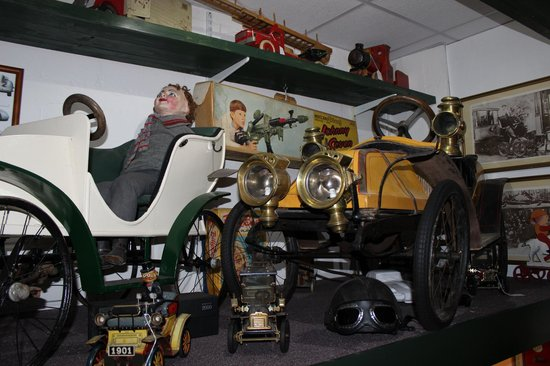 The Mill Toy & Pedal Car Museum: more