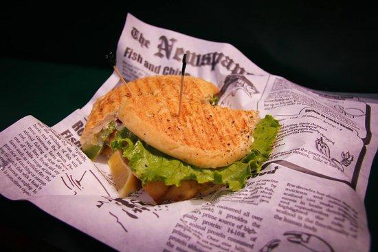 St. Lawrence Market: Haddock sandwich