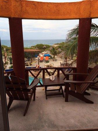 Villa La Bella : View from one of the balconies in the honeymoon suite.
