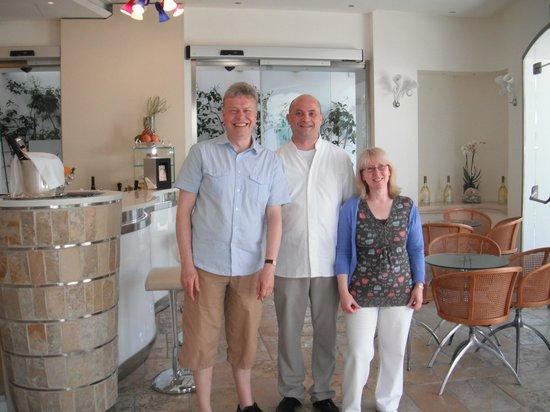 Melia Villa Capri Hotel & Spa: Pietro, our head waiter, who made it all so special.