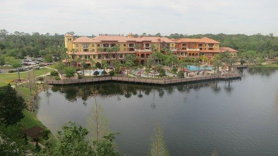 Wyndham Bonnet Creek Resort: view from balcony
