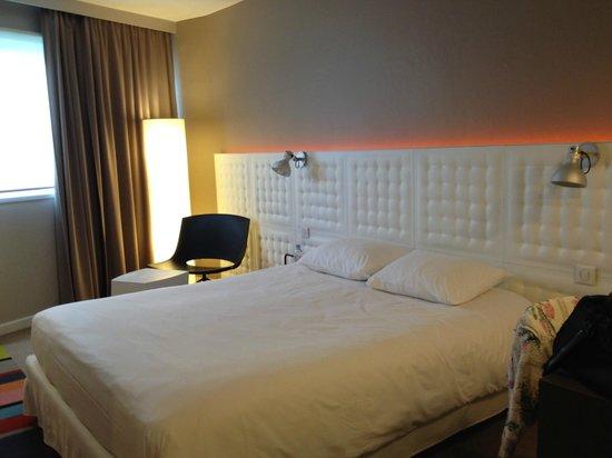 Ibis Styles Lyon Sud Vienne : il letto