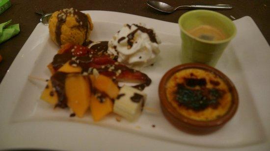 La Touna: Cafe Gourmand