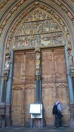 Freiburg Cathedral: Eingang