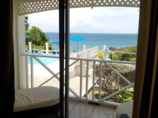 Bacolet Beach Club: Vista desde la habitación