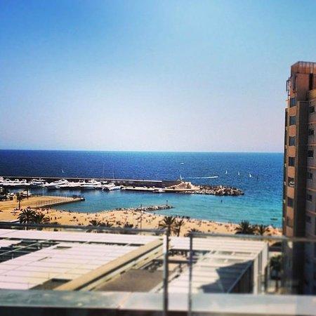 Pullman Barcelona Skipper: Вид с крыши