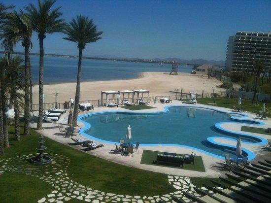 La Posada Hotel & Beach Club : Vista desde la habitacion